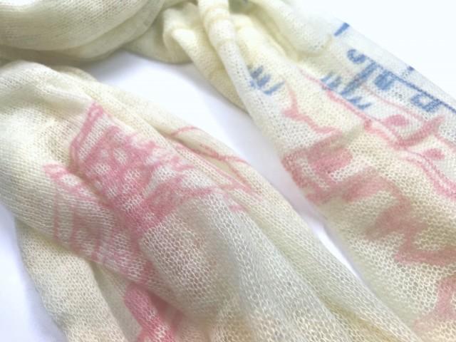 SFL-1700_Cashmere shawl with London & Paris print copy