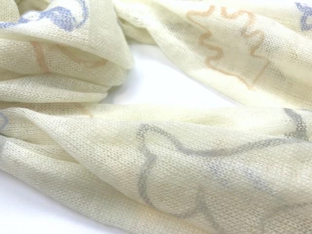 SFL-1702_Cashmere shawl with squirrels print_orange, grey, blue print copy
